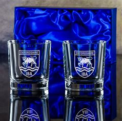 Presentation Boxed pair of Plain Toscana Tumblers