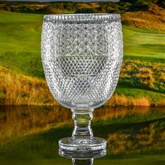 Crystal Engraved Lancaster Chalice