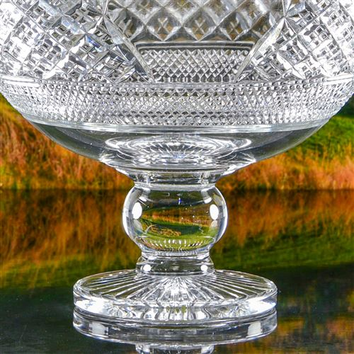 Crystal Engraved York Bowl