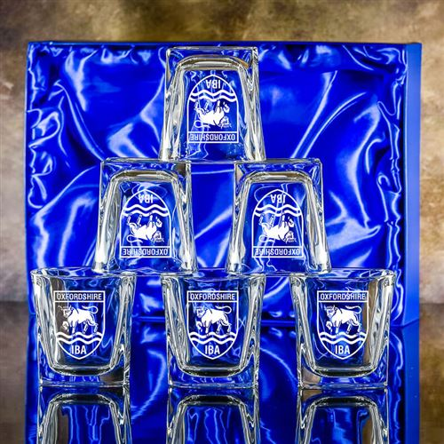 Six Engraved Admittable Tumblers Gift Set