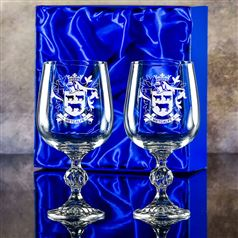 Claudia Goblet pair in a presentation box