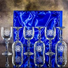 Six Edward Goblet Glasses Gift Set
