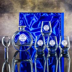 Zeus Gin Decanter and Four Gin Tumblers Gift Set