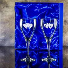 Forest Goblets Presentation boxed as a pair