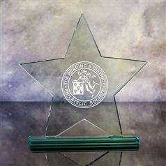 Medium Star Plaque