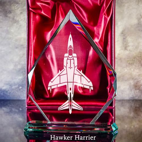 Harrier Aircraft Typhoon Plaque