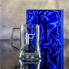 Small Engraved Stern Tankard Gift