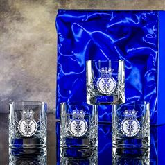 Four Edward Whisky Tumblers Gift Set