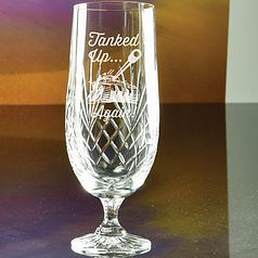 Hand Cut Gala Glass