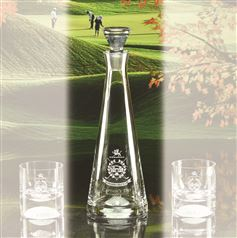 Golf Ball Bottom Decanter