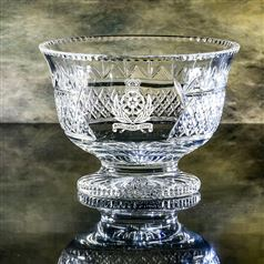 Crystal Engraved Venice Bowl