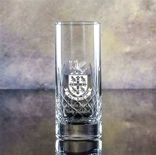 Engraved Crystal Edward Cut Hiball