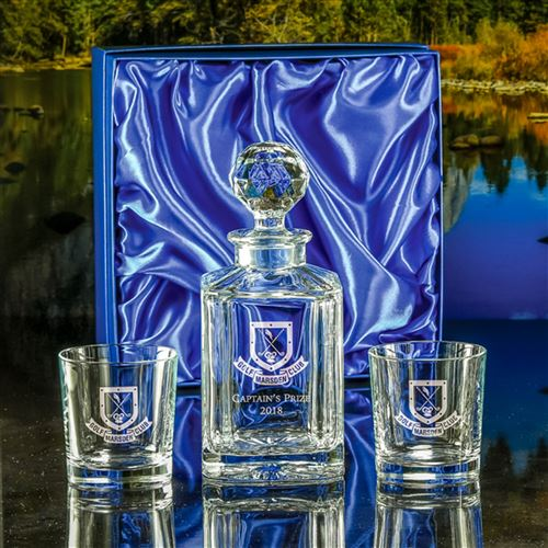 Crystal Salisbury Decanter and Toscana Tumblers Gift Set