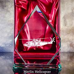 Puma Helicopter Aircraft - Engraving