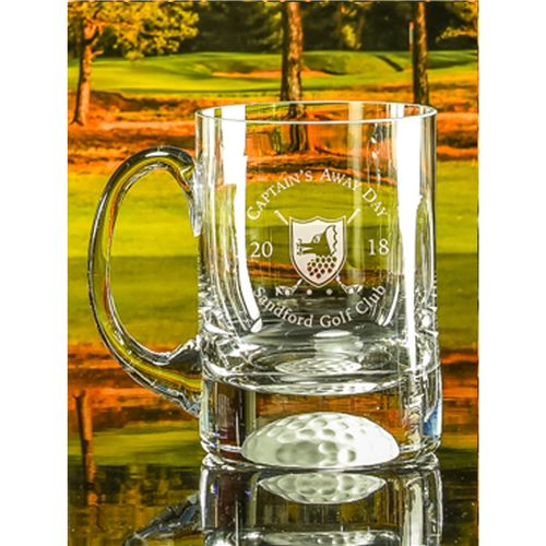 Large Golf Ball Bottom Tankard